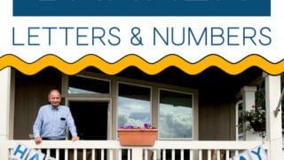 Large Banner Letters And Numbers you can print at home!