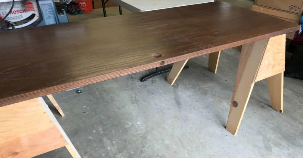 Garage Sale table idea.