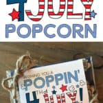 4th of July microwave popcorn tag.